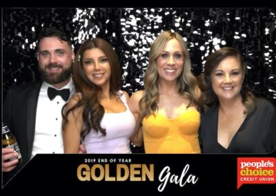 Photo booth pop up at gala event