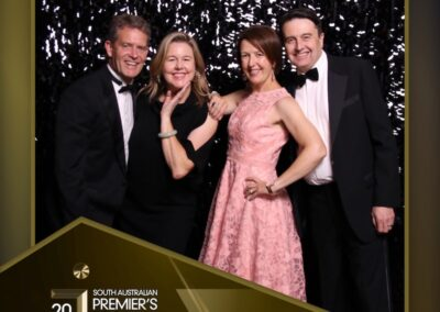 pro pix photo of 2 couples at industry awards